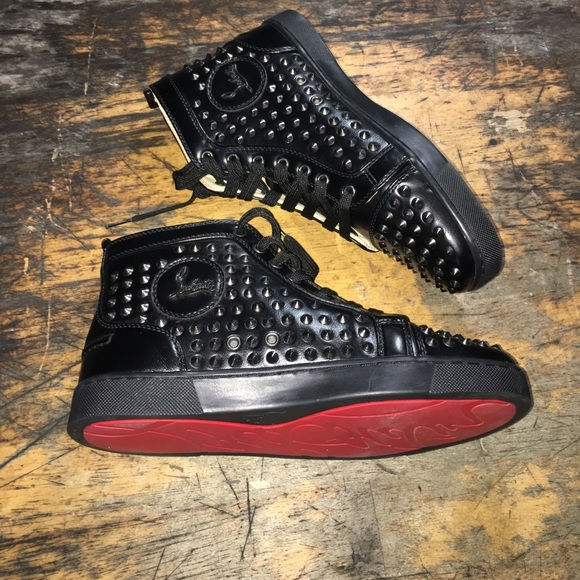 7e41602c740c Christian Louboutin Shoes - Louboutin Black Spike